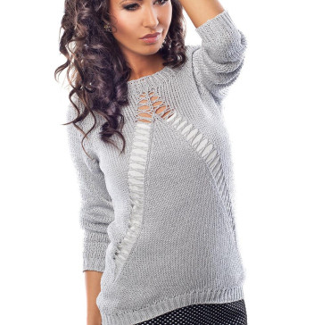 Sweter idealnie dopasowany